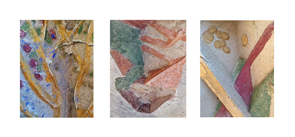 Arcosanti Color Triptych #1
