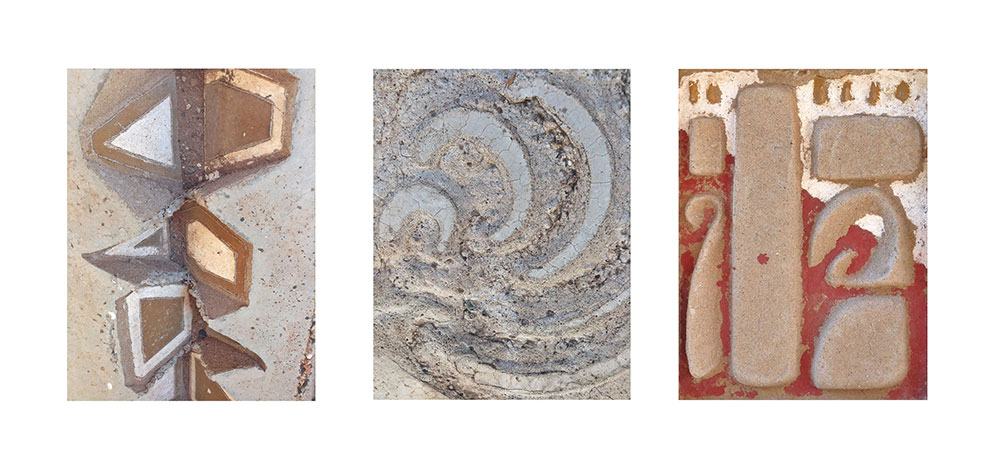 Arcosanti Color Triptych #2