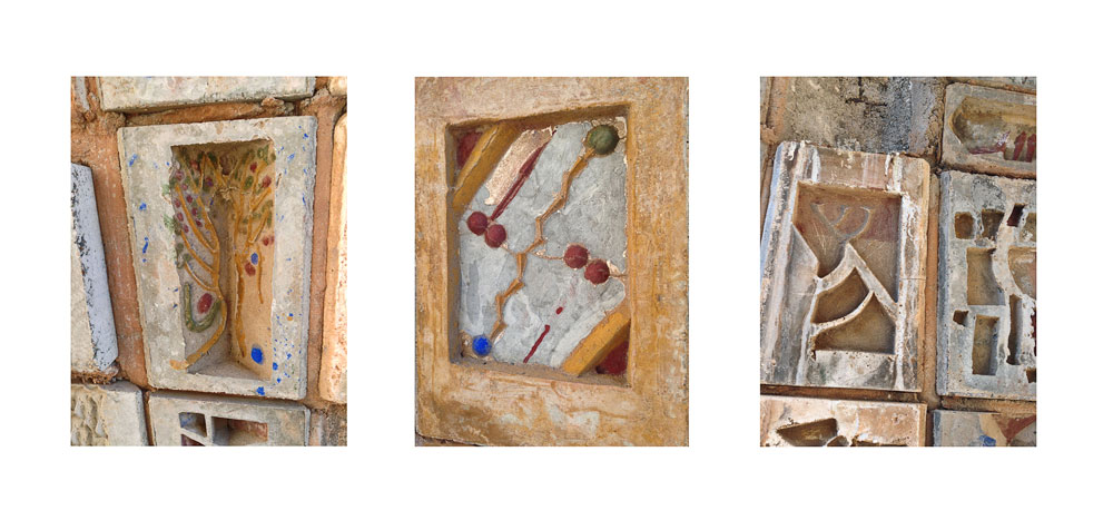 Arcosanti Color Triptych #4