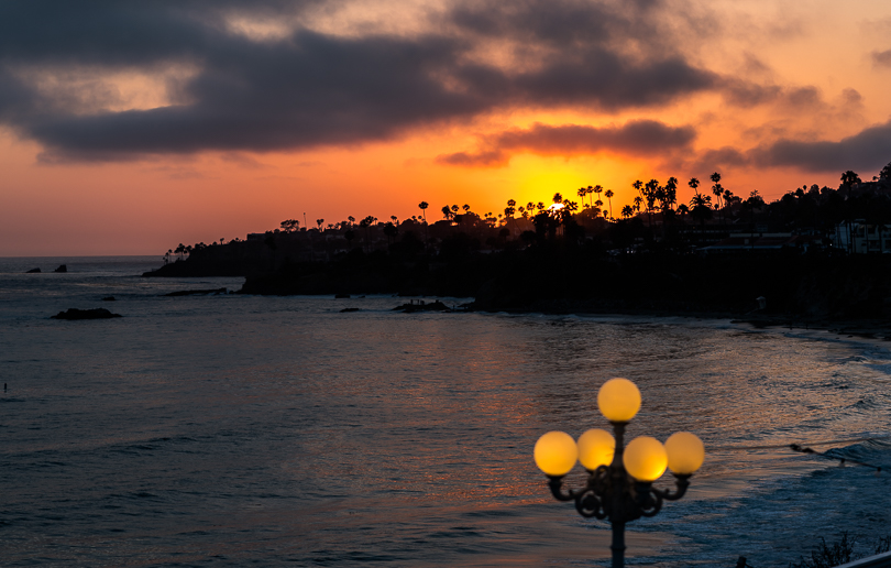 """Laguna Beach Sunset"" ISO 100, 85mm, f2.8 @ 1/250 s"