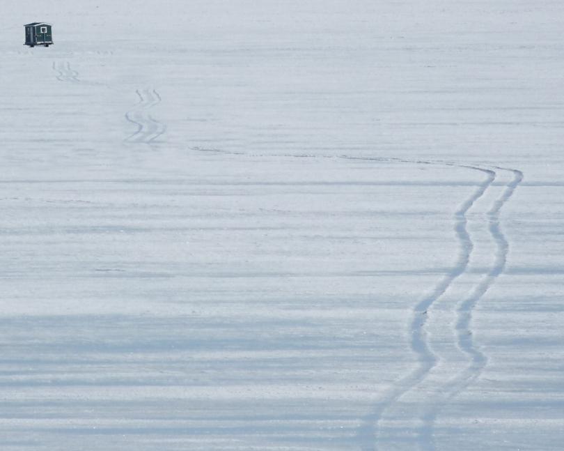 Sacandaga Ice Fishing Shelter