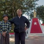 Shot with DXO ONE Camera. Veterans at a Memorial dedicated to Bogyoke Aung San.