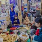 Shot with DXO ONE Camera. Lunch Time at the Zay Cho Market, Mandalay.
