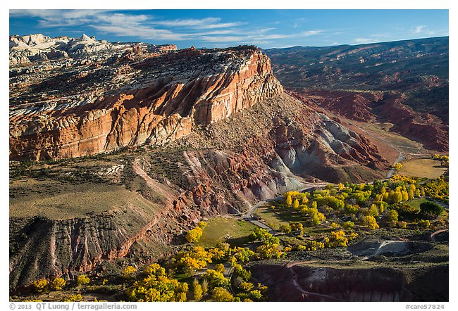 Fruita from Rim Overlook, afternoon.