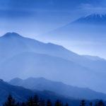 Mt. Fuji Seen From Nagano, Japan