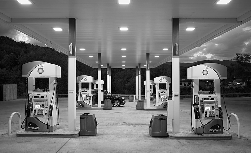 BP Gas Station, Bryston, NC