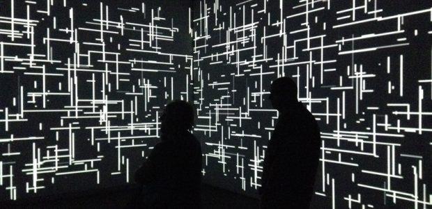 Digital installation at the Phoenix Art Museum