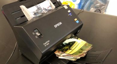 Epson FastFoto FF640 Scanner