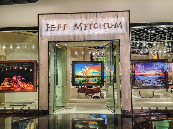 The Jeff Mitchum Gallery. This gallery is located in the MGM Grand Hotel & Casino in Las Vegas, Nevada.