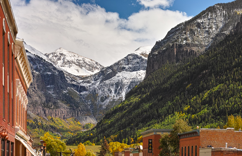 """View of 13'ers from Telluride, 2013"", Sigma DP3 Merrill, 50mm f2.0 lens"