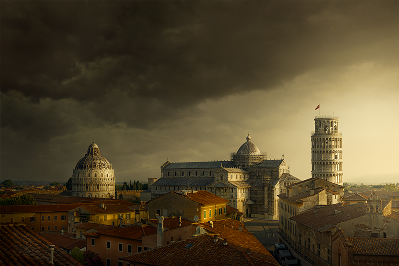 A moment of clarity: The Leaning Tower of Pisa and Florence