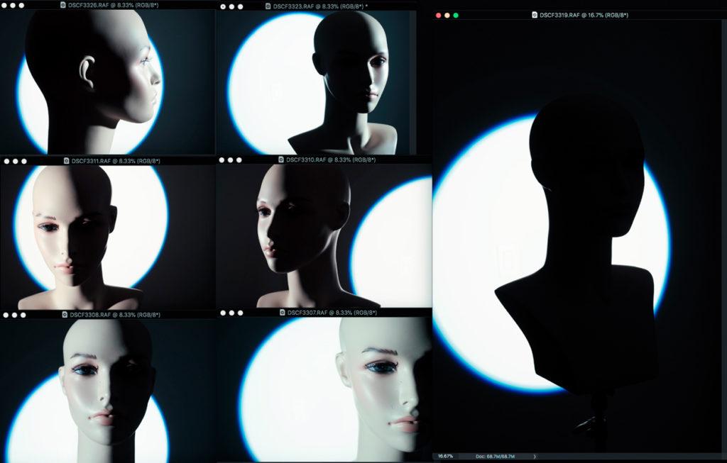 Moodboard study with Elinchrom Zoom Spot