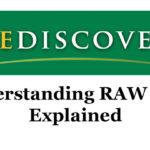 Rediscover – Understanding RAW Files
