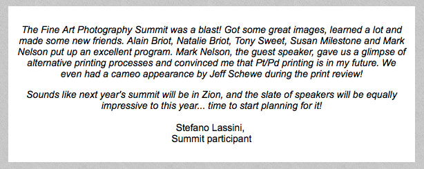 Testimonial from Stefano Lassini, Summit participant