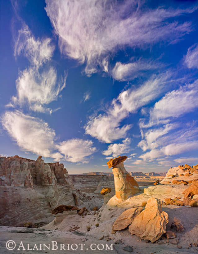 Hoodoo Clouds Dance