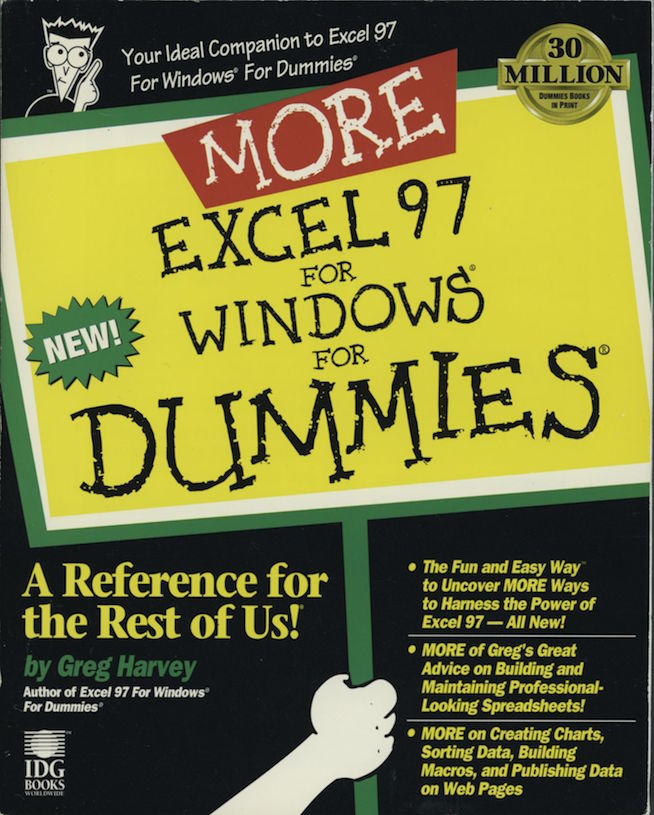 Figure 15. Excel for Dummies