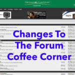 Changes On The Forum – Coffee Corner