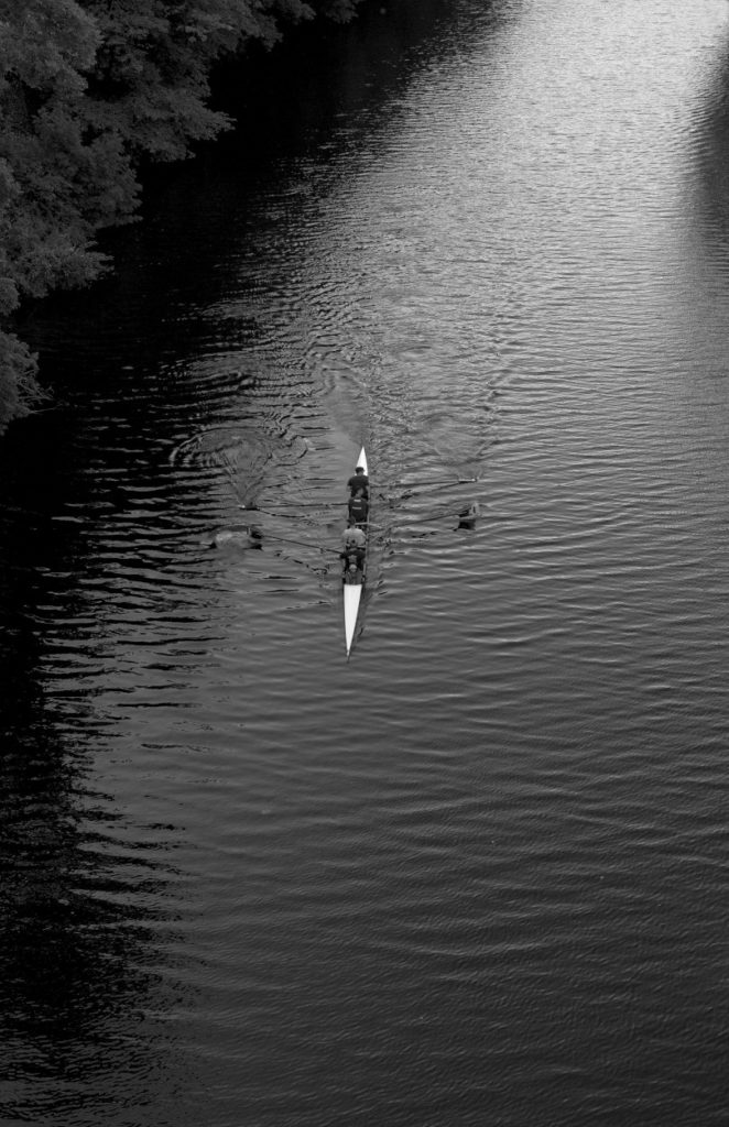 """Rowing on the River"""