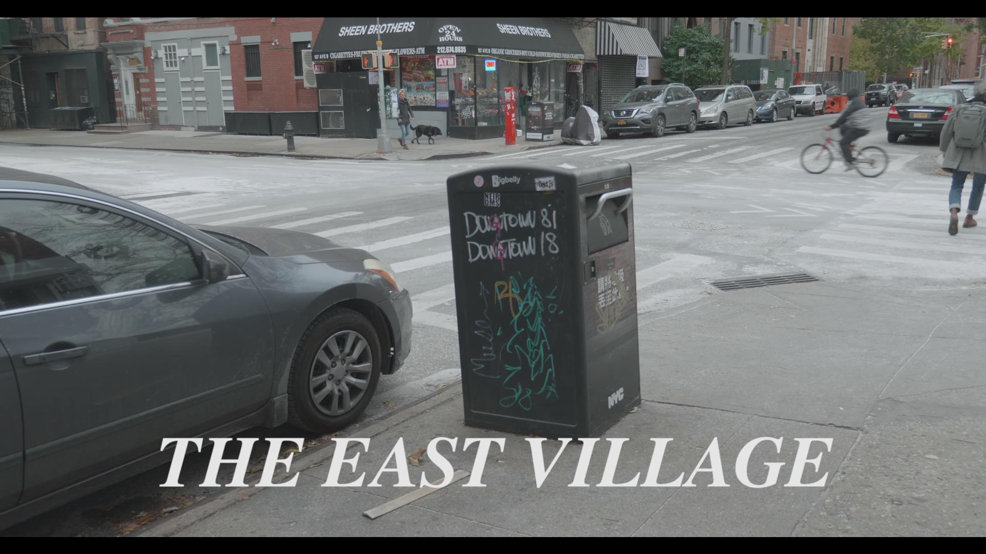 James Maher Followup: East Village